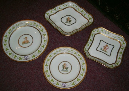21-delig Wedgwood servies