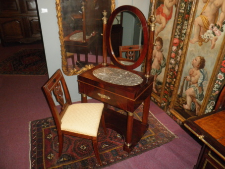 Empire toilettafel, Holland 1810