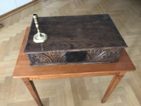 Table-box. Early-Oak.