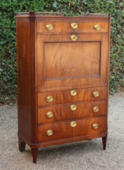 Antiek Hollands Secretaire ( 0149.K )