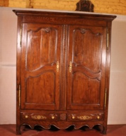 French wardrobe 18° century in oak