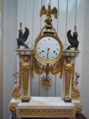 Louis XVI 18th century Portico clock