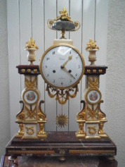 Portico clock, Louis XVI 18th century