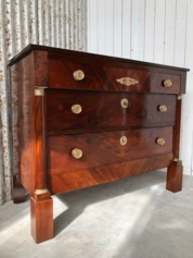 Empire Franse mahonie commode.