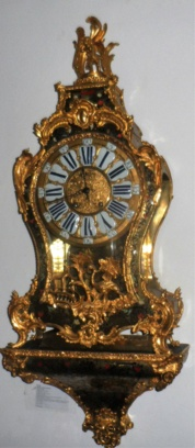 Grote console boulle clock 1750