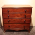 Engelse mahonie commode/ ladekast