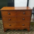 Engelse Ladekast/ Commode