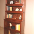 a fine 6 sections globe wernicke bookcase in mahogany