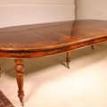 a fine french walnut extending dining table revival charles X