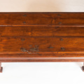 Spanish coffee table formed with an old 16 century Spanish door c. 1600 Spain