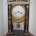 Empire Portico clock