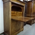 Hollands vroeg biedermeier klep secretaire.